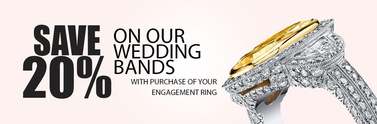 Save big on wedding bands
